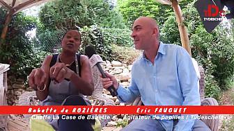 Babette de Rozières, La Case de Babette à Maule /78 invitée d'Avant-Propos la TVdesChefs