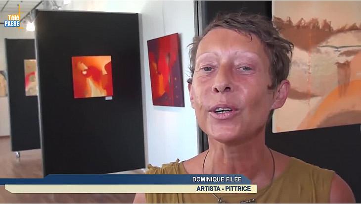 Télé Paese Corsica: Dominique Filée et ses ½uvres abstraites et un univers sensitif au Spaziu de Lisula