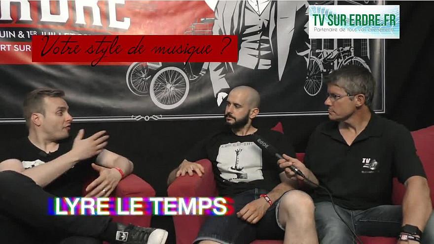 interview LYRE LE TEMPS #lanuitdelerdre2018 #festival #musique #hiphop #jazz #charleston